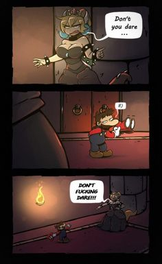 Freaky Little Mario by See more 'Bowsette' images on Know Your Meme! Super Mario Memes, Super Smash Bros Memes, Super Mario Bros, Pokemon, Mario Funny, Mario Comics, Nintendo Game, Mini Comic, Video Game Memes