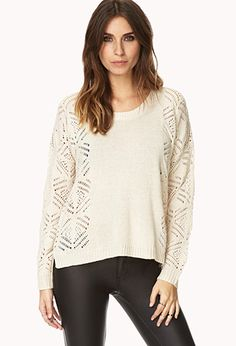 Cozy Moment Knit Sweater | FOREVER21 - 2000088720  #F21Crush
