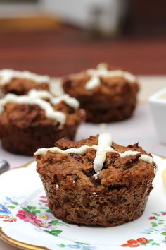 Paleo Cranberry Hot Cross Buns. Gluten, grain, sugar & dairy free. Perfect this Easter.