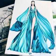 Dress Design Drawing, Dress Design Sketches, Fashion Design Sketchbook, Fashion Design Drawings, Fashion Sketches, Fashion Drawing Dresses, Fashion Illustration Dresses, Drawing Fashion, Croquis Fashion