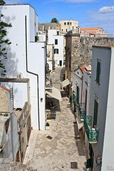Streets of Otranto, Apulia, Italy