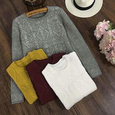 Cupshe Let's Get Cozy Twist Knitting Sweater