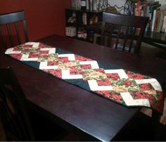 Sew a new and very elegant table runner for your Christmas table this year with the pattern for a Classic Fat Quarter Runner. The free Christmas sewing pattern provides easy to follow instructions that will show you how to turn some festive fat quart