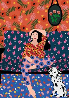 Rafaela Mascaro is a designer and artistic director from São Paulo, who also created Studio Grand-Père as an illustration project in The purpose of this Art And Illustration, Pattern Illustration, Illustrations And Posters, Fashion Illustrations, Design Illustrations, Portrait Illustration, Art Inspo, Kunst Inspo, Art Inspiration Drawing