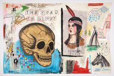 """A Look Inside Wes Lang's """"The Studio"""" Exhibition"""