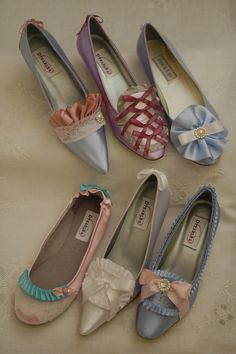 Marie Antoinette Shoes:  I loooooove these and am going to have to make some!