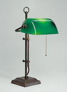 original Emeralite banker's lamp