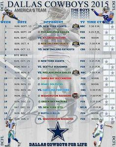 dallas cowboys jersey schedule