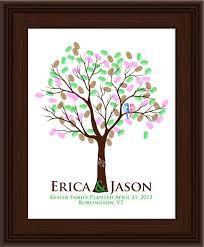 Image result for fingerprint tree wedding guest book