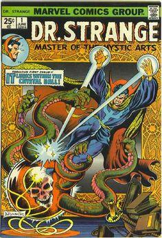 Doctor Strange benefited from some seriously good artists - Frank Brunner amongst them.