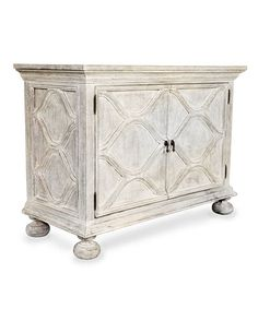 Comles Sideboard - White Weathered