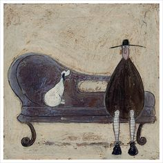 He Knows His Place by Sam Toft