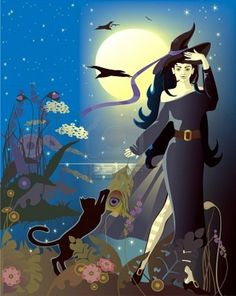 Full Moon Witch