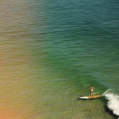 A perfect day looks something like this. Longboard heaven.