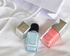 Dior Spring nail polish vernis, Porcelaine and Bouquet
