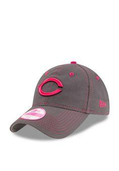 New Era Cincinnati Reds Grey 2016 Mothers Day LS 9TWENTY Adjustable Hat