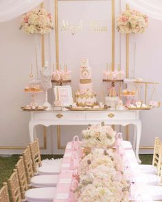 Abigail Milan's Dior Diamonds Birthday Party ~ Cake stands created by Opulent Treasures :: http://www.opulenttreasures.com/shop/