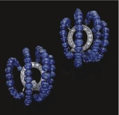 Duchess of Windsor's Cartier sapphire earrings