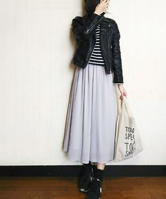 N.(N. Natural Beauty Basic)シフォンプリーツスカート