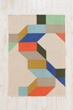 Complex Colour Rug at Urban Outfitters