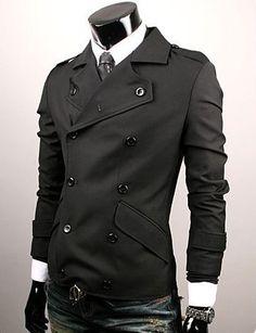Mens Slim Skiny Sexy Top Designed Coat Jacket