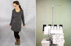 Tips und Tricks für den Overlock-Start Blog, Normcore, Fur, Jackets, Style, Fashion, Fashion Styles, Free Sewing, Diy Clothing