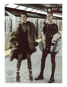winter is coming: stephanie rad and zoe colivas by davian lain for l'officiel singapore september 2016   visual optimism; fashion editorials, shows, campaigns & more!