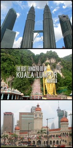 The best things to do in Kuala Lumpur, Malaysia, including Batu Caves, the Petronas Towers and Chinatown.