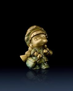 Brass Master Home decor sculpture - Metal crafts ornaments statue - Soldier Yaya 3010106 Special Price: $229.00 Links: http://www.amazon.com/gp/product/B00KK3IDOC