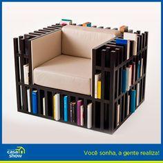 Gosta de design inovador e de uma boa leitura? E que tal os dois em um só?