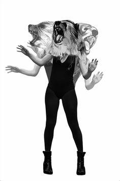 Mixed Media Illustrations by Jenny Liz Rome