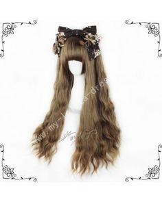 European Style Brown Curls Lolita Wig #lolita  #wig