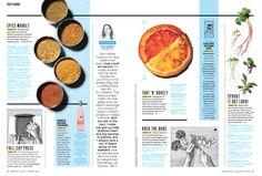 Food magazine spread - Bon Appetit - Jarren Vink photo