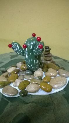 cactus en jardín rocos