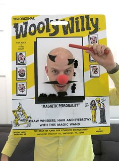 Wooly Willy Costume