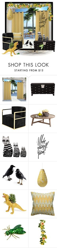 """Home Sweet Home Contest!"" by ragnh-mjos ❤ liked on Polyvore featuring interior, interiors, interior design, home, home decor, interior decorating, Exclusive Home, Upton Home, Eichholtz and David Trubridge"