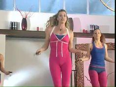 Jill Cooper - Allenamento Anti-Cellulite Intenso! Esercizi Cosce - Pancia - Glutei - YouTube