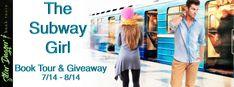 Stephanie Jane: Spotlight on The Subway Girl by Lisa Becker + #Giv... Unexpected Love, Book Sleeve, New York Subway, Girls Series, Book Girl, Ex Girlfriends, Hopeless Romantic, Book 1, Comedy