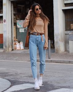 ✈️ Source by miradreckmann turtleneck outfit casual Tumblr Outfits, Jean Outfits, Trendy Outfits, Fall Outfits, Fashion Outfits, Chic Outfits, Fashion Ideas, Outfit Jeans, Looks Con Converse