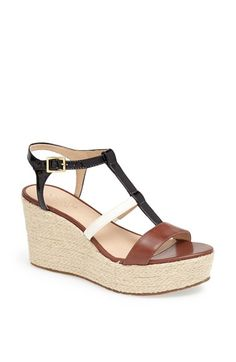kate spade new york 'tobey' wedge sandal available at #Nordstrom
