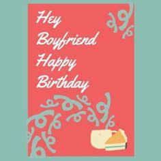 Sweet Card for the best boyfriend Best Boyfriend, Diy Gifts For Boyfriend, Happy Birthday Boyfriend, Diy Letters, Birthday Cards, Relationship, Sweet, Bottles, Fun