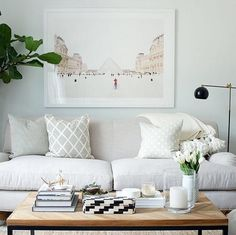 Oversize statement art inspiration from Minted