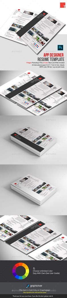 Sewon Clean Resume Template Volume 3 - Resumes Stationery - resume template app