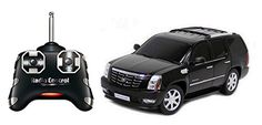 Radio controlled (RC) toys can be toy grade or hobby grade. The toy-grade Radio Controlled devices can be available at a cheap rate in almost every retail store Cadillac Escalade, Remote Control Boat, Radio Control, General Motors, Rc Radio, Kids Electronics, Kids Class, Toy Sale, Car Car