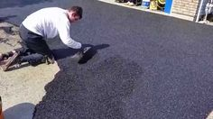 Rubber Paving Demo