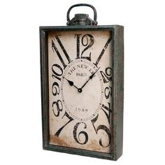 I pinned this Paris Wall Clock from the Wickford Alley event at Joss and Main!