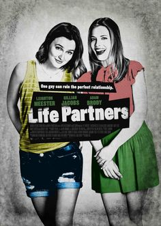"""314: """"Life Partners"""" Director: Susanna Fogel 2014 #DLMChallenge #365Days #365Movies @GillianJacobs is awesome as per usual. great characters"""