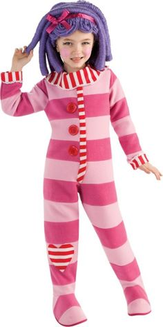 Girls Pillow Featherbed Costume Deluxe - Lalaloopsy - TV, Movie Costumes - Girls Costumes - Halloween Costumes - Party City