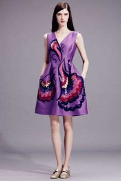 Alberta Ferretti | Resort 2015 Collection | Style.com