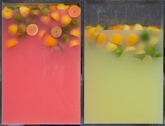 Fruit drinks at the fair by Dot In Time http://www.flickr.com/photos/27518735@N00/2602673774